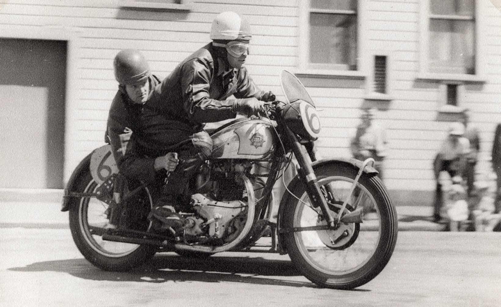 1952 Garth Spooner, Passenger unknown